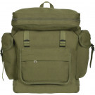 Olive Drab European Style Rucksack Military Backpack
