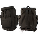 Black European Style Rucksack Military Backpack