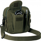 Olive Drab Canvas Venturer Excursion Organizer Shoulder Bag