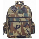 Woodland Camouflage Deluxe Water Resistant Military Backpack
