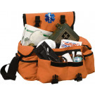 Orange EMS EMT Medical Rescue Response Shoulder Bag