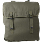 Olive Drab Heavyweight Canvas Jumbo Musette Bag