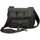 Black Military Canvas Venturer Survivor Shoulder Bag
