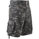 Subdued Urban Digital Camouflage Vintage Military Infantry Utility Shorts