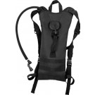 Black Military Type Hydration System Backpack