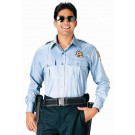 Light Blue Law Enforcement Issue Uniform Long Sleeve Shirt