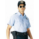 Light Blue Law Enforcement Issue Uniform Short Sleeve Shirt