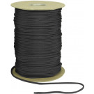 Black Nylon Paracord 550LB 1000 Feet Spool