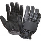 Black Full-Finger Rappelling Gloves