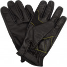 Black Leather Military Shooters Gloves