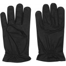 Black Leather Gloves With Specra Lining