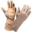 Desert Sand Military Flame Resistant Flight Gloves