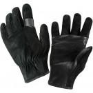 Black SWAT Fast Rope Leather Rescue Gloves