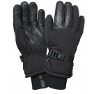 Black Cold Weather Insulated Long Cuff Military Gloves