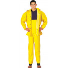 Yellow Deluxe Heavyweight PVC 2 Piece Rain Suit