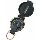 Black Plastic Lensatic Camping Compass