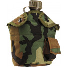 Woodland Camouflage Nylon 1 Quart Canteen Cover