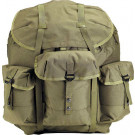 Olive Drab Military Enhanced Large Alice Pack Backpack & Metal Frame