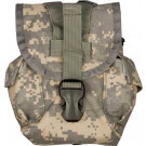 ACU Digital Camouflage MOLLE II Canteen Pouch w/ Utility Pouch