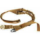 Coyote Brown Military Tactical Single Point Rifle Sling