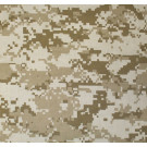 "Desert Digital Camouflage Military 27"" x 27"" Cotton Bandana"
