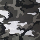 "City Camouflage Military 27"" x 27"" Cotton Bandana"
