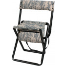 ACU Digital Camouflage Military Deluxe Quiet Folding Chair