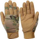 Multi Cam Military Lightweight Tactical All Purpose Duty Work Gloves