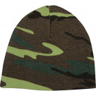 Woodland Camouflage Infant Crib Cap