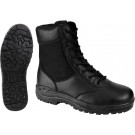 "Black Forced Entry Leather Military Tactical Boots (8"")"