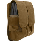 Coyote Brown Military Universal Rifle Mag MOLLE Pouch