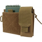Coyote Brown MOLLE Venturer Administrative Organizer Pouch
