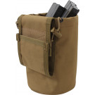 Coyote Brown Military Roll Up MOLLE Utility Dump Pouch Bucket
