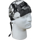 City Camouflage Biker Headwrap Bandanna/Do-Rag