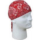 Red Biker Headwrap Bandanna/Do-Rag