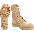 Desert Tan Sierra Lug Sole Leather Military Desert Boots