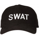 Black Law Enforcement Swat Low Profile Adjustable Cap