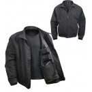Black Military Concealed Carry 3 Season Tactical Jacket