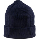 Navy Blue Military Winter Beanie Hat Acrylic Watch Cap USA Made