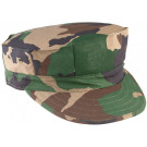 Woodland Camouflage Military Rip Stop Marine Corps 8 Point Utility Cap