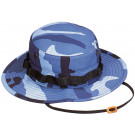 Sky Blue Camouflage Military Wide Brim Boonie Hat