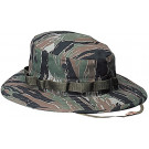 Tiger Stripe Camouflage Military Wide Brim Boonie Hat