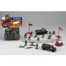 World War II Combat Force 38 Piece Toy Soldier Play Set