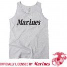 Grey Military Marines Physical Training Tank Top