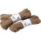 "Desert Tan Nylon Military 72"" Long Boot Laces - 3 Pack"