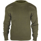 Olive Drab Military Acrylic Tactical Commando Crewneck Sweater