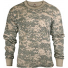ACU Digital Camouflage Tactical Long Sleeve Military T-Shirt