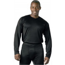 Black Military Generation III ECWCS Silk Weight Thermal Shirt