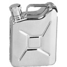 Silver Jerry Can Stainless Steel Flask