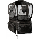 Black Military Mulit-Pocket Recon Vest